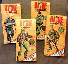 Hasbro GI Joe Commemorative Edition PILOT SOLDIER MARINE SAILOR Set of 4 1995