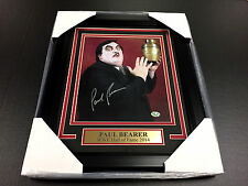 PAUL BEARER WWE WWF FRAMED 8x10 SIGNED PHOTO AUTOGRAPHED SIGNATURE