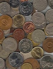 **1/2 POUND LOT ALL DIFFERENT FOREIGN WORLD COINS**