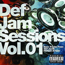 Audio CD Def Jam Sessions, Vol. 1 - Various Artists - Free Shipping