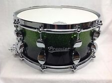 "Premier Drums Series Elite 14"" X 6.5"" 1-Piece Maple Snare/Apple Sparkle Fade/NEW"