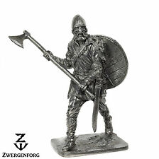 "Tin Toy SOLDIER 54mm VIKING Warrior & NORSE Axe RAIDER 1/32"" Metal Tin Figure"