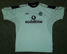Manchester United - Man Utd - 1999/2000 White 3rd Shirt - UMBRO - Extra Large XL