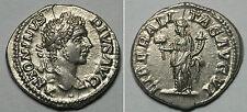 IMPERIO ROMANO.   CARACALLA.  DENARIO. ROMA.   GRIETA.   EBC