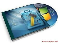 PC & Laptop Bootable Repair Restore Recovery Disc, Windows Vista, 7, 8, 8.1 & 10