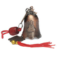 Excellent China's Tibetan Buddhism Brass Bell Buddhist Goddess Temple Feng Shui