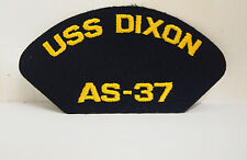 US Navy USS Dixon AS-37 Military Patch Ship Boat
