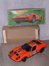 TPS LAMBORGHINI MIURA SWINGER W/BOX. PERFECTLY & FULLY WORKING T.P.S. VERY RARE!