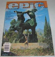 EPIC ILLUSTRATED #9 (Marvel 1981) METAMORPHOSIS ODYSSEY by Jim Starlin (VF+)