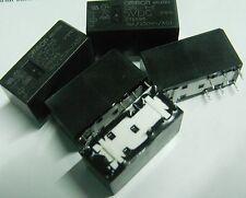5 x OMRON g2rl-1-e-dc5 5 VOLT BOBINA AD ALTA CORRENTE 16A basso profilo RELAY 5V SPDT