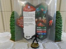 Heroscape Custom Black Manta Double Sided Card & Figure w/ Sleeve DC