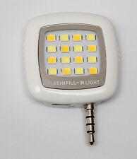 LED Luz Portátil para Teléfonos Móviles Cámara de luz para Smartphone Photography.