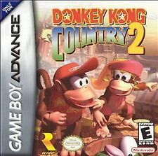 Donkey Kong Country 2, (GB Advance)