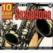 10 Easy Lessons- Learn To Play Saxophone CD Size,