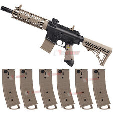 Tippmann TMC Paintball Gun Magfed Milsim Magazine Marker with 6 Pack Magazines