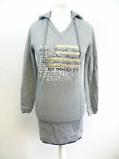 Hv polo pull trance gris chiné taille m neuf BOX8412 g