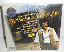 457 733-2 Rossini Il Barbiere Di Siviglia Hermann Prey LSO Abbado New Sealed 2CD