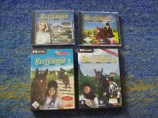 Abenteuer auf dem Reiterhof PC  1 + 2 + 3 + 4 grosse Sammlung alle 1 Auktion