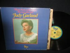 """The Uncollected Judy Garland """"More than a Memory"""" LP"""