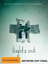 Lights Out (DVD, 2016) (Region 4) Aussie Release