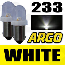 2X 233 BA9S T4W XENON LED WHITE INTERIOR LIGHT BULBS FORD MONDEO