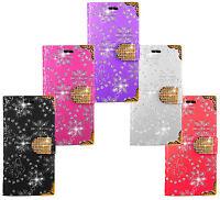 Handy Tasche für Samsung BlingDiamant Cover Case Schutz Hülle Etui Schale Wallet