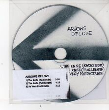 (DS440) Arrows of Love, The Knife - 2013 DJ CD
