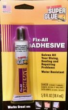 The Original Super Glue Fix-All ADHESIVE T-FA 5/8 FL OZ Made In U.S.A.