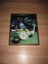 Vintage Seth Thomas Buffalo Sabres Hockey Game Jersey & Puck Wall Clock/Free SH!