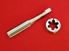 "Quality 1/2-28 HSS TAP & 1"" OD Round Adjustable Split Die Gunsmithing COMBO"