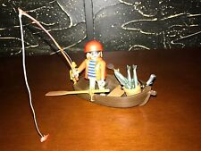 PLAYMOBIL 3937 Pirate Fisherman - 100% COMPLETE - NO BOX!!!