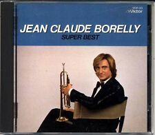 JEAN CLAUDE BORELLY Super Best 1984 1st Press JAPAN Only CD 3500Yen VDP-33