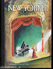 "The New Yorker Magazine March 15, 2010 ""In the Spotlight"" by J. J. Sempe Exc."