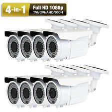 1080P AHD 960H 2.6MegaPixel 8) 72IR Sony CMOS CCD CCTV 4 in 1 Security Camera AC