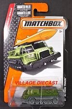 2016 Matchbox #72 Attack Track™ ARMY GREEN METALLIC/MOC