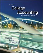 College Accounting: A Contemporary Approach by Haddock, M. David, Price, John,