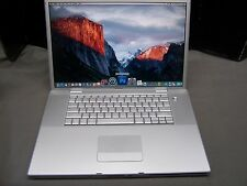"Apple MacBook pro 17"" inch laptop Photoshop Office Garage band"