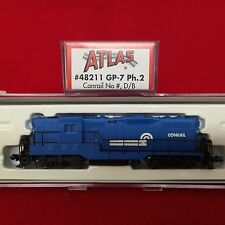 48211 Atlas N Scale GP-7 Conrail Engine NIB
