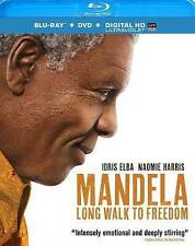 Mandela Long Walk To Freedom Idris Elba Blu-ray Only Watched A Few Times