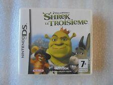 jeu nintendo DS Shrek le troisième
