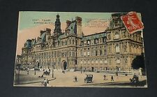 CPA 1910 CARTE POSTALE FRANCE PARIS HOTEL DE VILLE