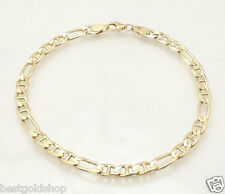 "8.25"" 5mm Mariner Gucci Link Bracelet Real 14K Yellow Gold  with Lobster Clasp"