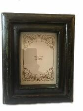 "Bohemian Antique Wooden Picture Photo Frame Free Standing Holds 5"" X 7"" Gift"