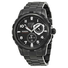 Fossil Dean Automatic Black PVD Stainless Steel Automatic Mens Watch ME3040