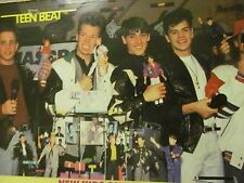 New Kids on the Block, Tommy Page, Double Full Page Vintage Pinup