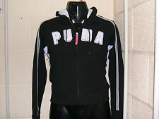 Puma AT Hooded Sweat Jacket Size UK 10 / Small Ladies