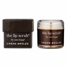 Sara Happ CREME BRULEE Lip Scrub and Exfoliator -1 oz BRAND NEW IN THE BOX SEALD