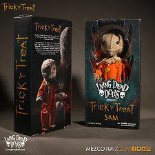 "LIVING DEAD DOLLS TRICK 'R TREAT SAM ACTION FIGURE DOLL MEZCO TOYZ - 10"" / 25cm"