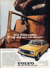 VOLVO - 144-iii-1971 - pubblicità con loghi pubblicità-Genuine Advert-la publicité-NL-commercio di spedizione