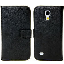 Lychee Leather Wallet Stand Flip Case With Visa Card slots For Samsung Galaxy S4